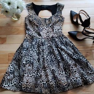 Jessica Simpson - Animal print dress